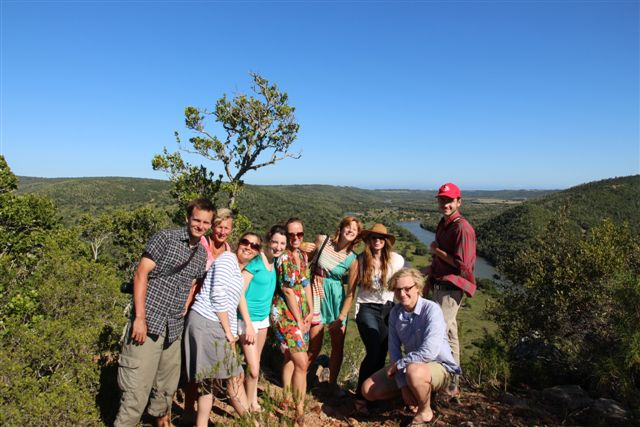 Volunteers on the Kariega Conservation Experience