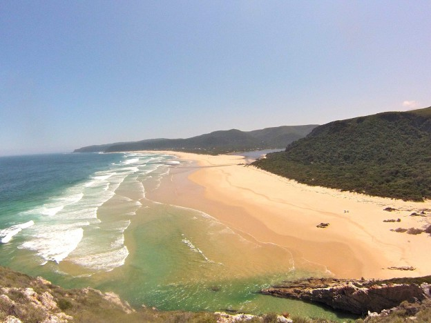 Beautiful beach in Africa
