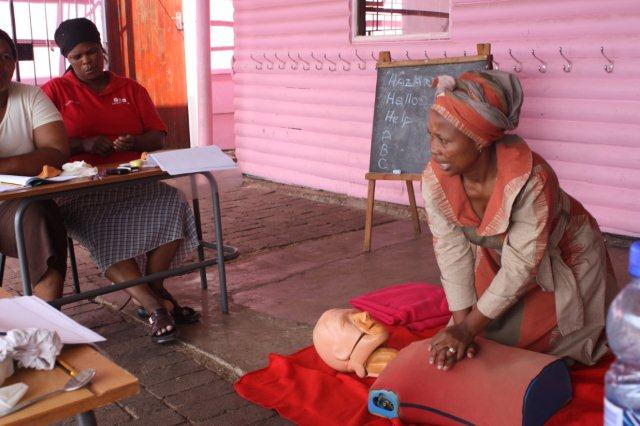 First Aid Training in the community
