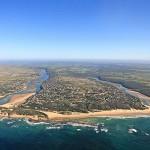 A shot of South Africa's beach