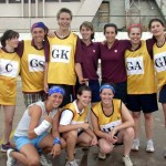 A netball squad
