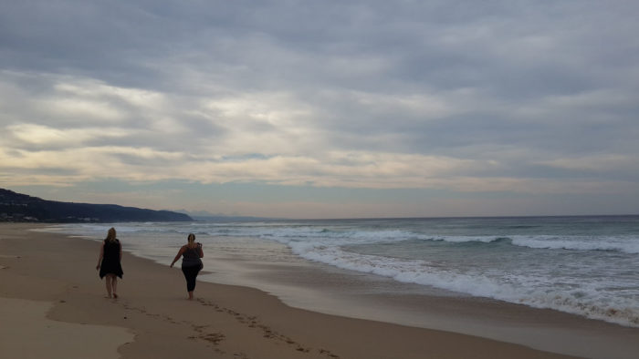 May Surveying along Keurboomstrand beach